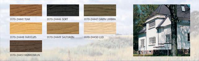 træbeskyttelse Arsinol   Esbjerg Paints træbeskyttelse